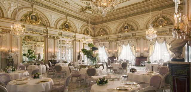 Le Louis XV- Alain Ducasse Restaurant in Monaco