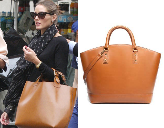 Zara Shopper Basket Olivia Palermo