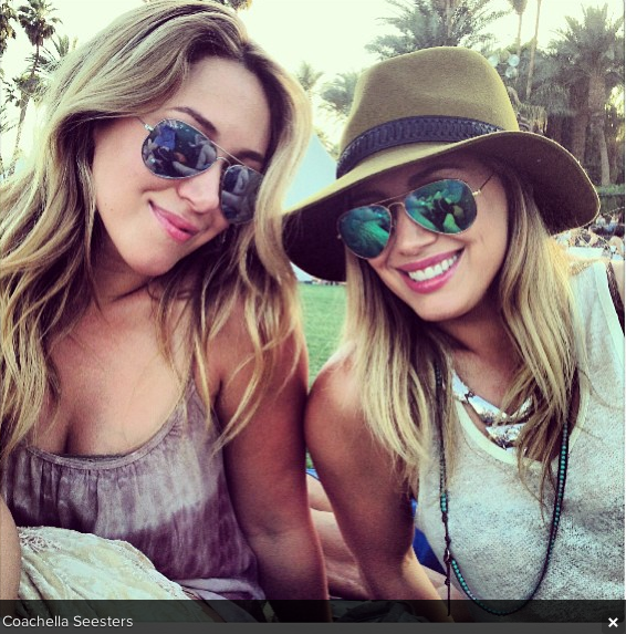 Coachella Celebrity Instagram Photos 2013 - Fashion's On ...