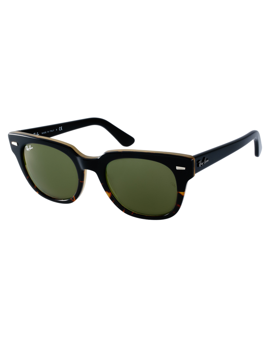 Wayfarer style sunglasses ray ban for Ray ban wayfarer verre miroir