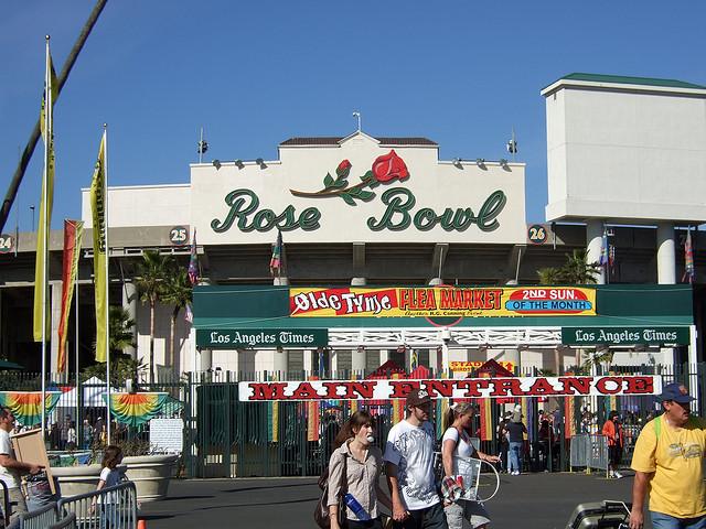 Rose Bowl Flea Market Los Angeles