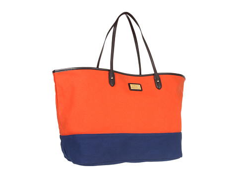 Ralph Lauren Lakewood Canvas Tote