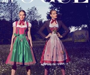 Deutsch Vogue Dirndl Dresses