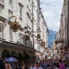 Shopping in Salzburg, Austria