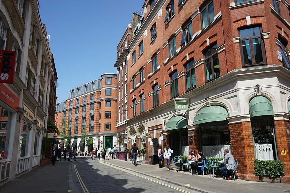 Marylebone Lane, London